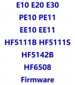 E10_E20_E30_EE10_EE11_HF5111B_HF5111S_HF5142B_HF6508_PE10_PE11_Firwmare