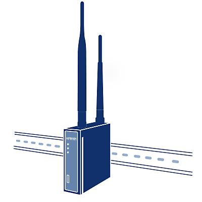 Rail GPRS Serial Server