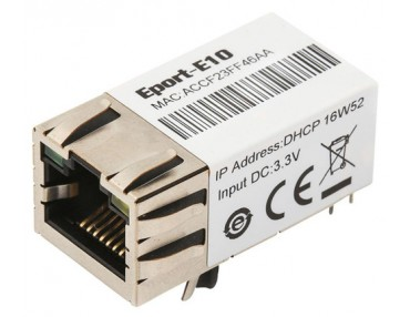 "Shanghai High-Flying launched a NEW super tiny serial server ""Eport-E10"" Super Ethernet Module"